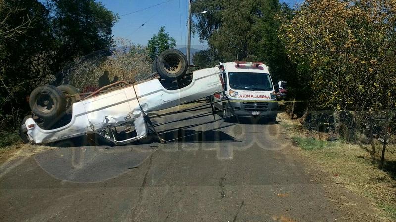 Los lesionados fueron trasladados al Hospital Regional de Pátzcuaro y los más graves al Hospital Civil de la capital del estado