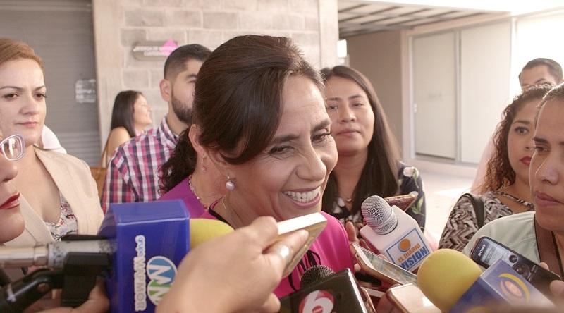 En su intervención Cocoa Calderón reconoció la labor del órgano electoral en el acompañamiento del proceso de recolección de firmas