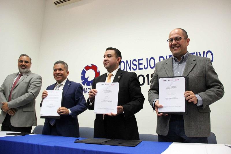 El presidente de la CANACINTRA, Abelardo Pérez Estrada, apuntó que es necesario contar con la certeza y las facilidades para convocar a los afiliados a que tomen las acciones necesarias para que ésta sea una elección ejemplar