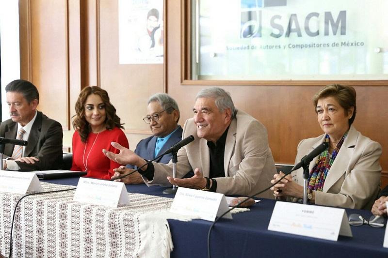 Las titulares de la Secum, Silvia Figueroa, y de la CGCS, Julieta López, invitaron a todas y todos los mexicanos a hacer suyo este gran festejo, dedicado a quien ha aportado tanto musicalmente al país