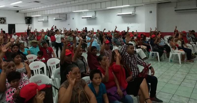 Sandoval Flores dijo que con estos cuatro congresos municipales extraordinarios, el PT como nunca antes se encuentra en franca expansión