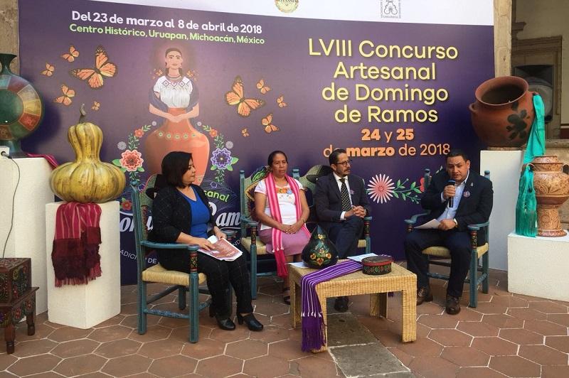 El concurso, el 25 de marzo en la Casa de la Cultural; el IAM, el Fonart, otras instituciones gubernamentales y la IP, otorgarán un millón 65 mil pesos en 298 premios