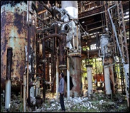 Fig. 3 Accidente en Bhopal India