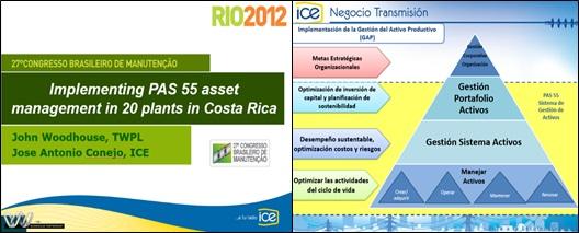Fig. 15 Conferencia por el grupo consultor Woodhouse en Brasil 2012.
