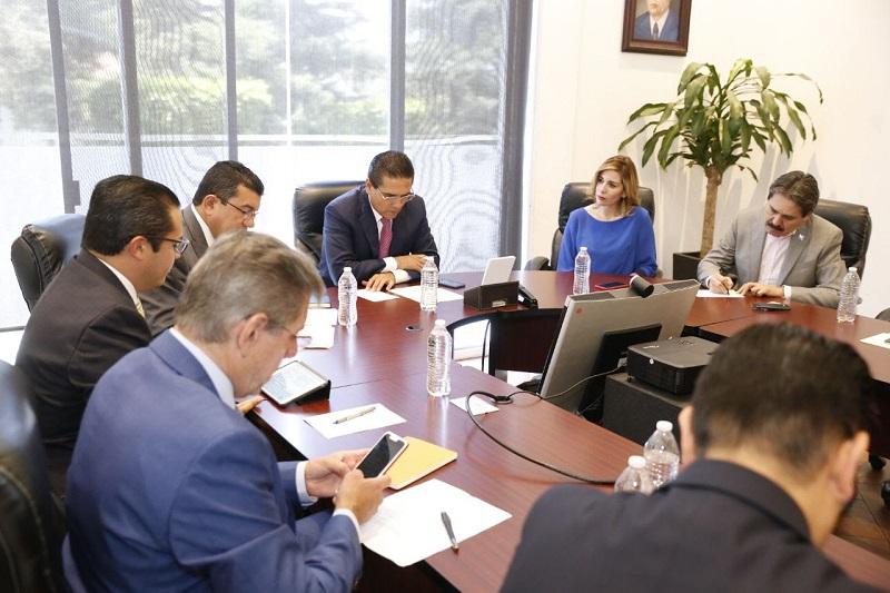 Aureoles Conejo manifestó que continuarán estas reuniones para construir los proyectos que la entidad y los sectores más vulnerables requieren
