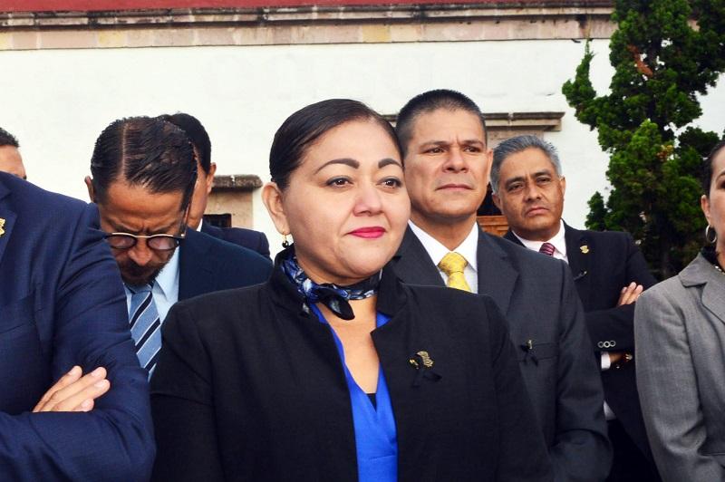 """Estrada Esquivel resaltó que sobre los sistemas locales anticorrupción, """"el SESNA observó que en Michoacán seguimos haciendo las cosas bien"""""""