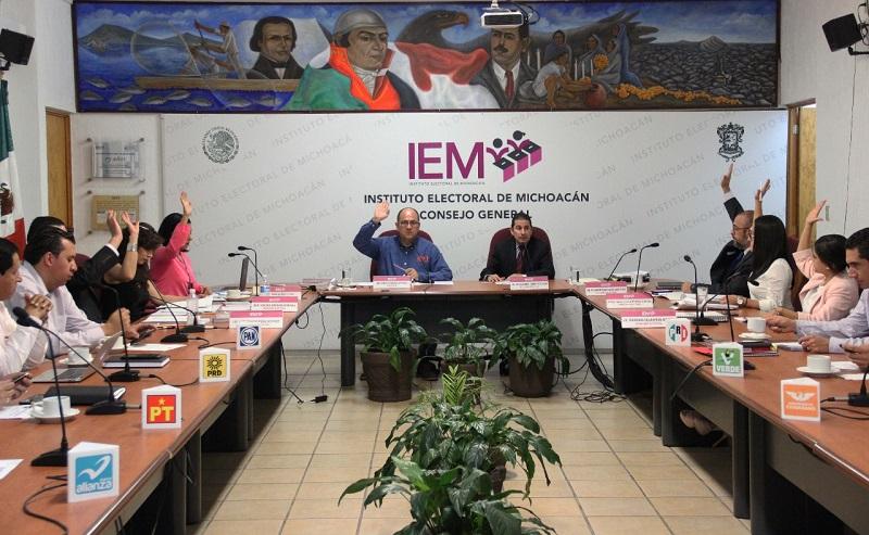 Nombramientos y sustituciones en los Comités y Consejos electorales refuerzan el trabajo: IEM