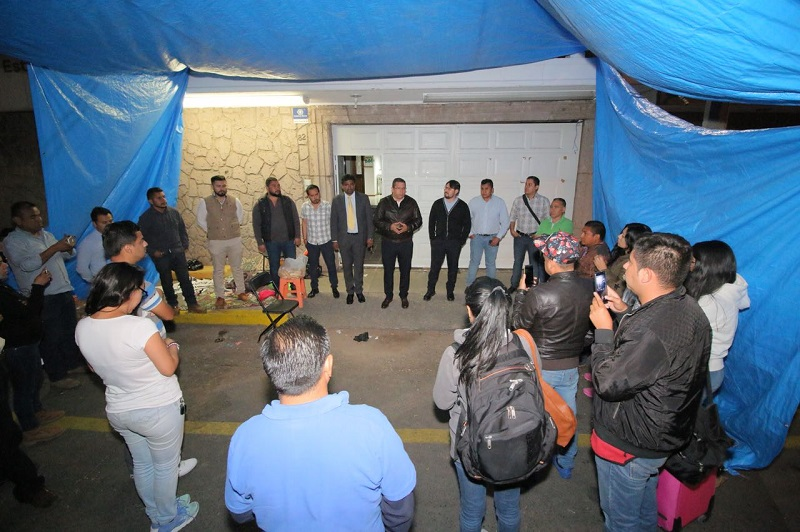 Juan Carlos Barragán celebró que la disposición de las partes haya concluido con un acuerdo que permitirá el funcionamiento eficiente y eficaz del Telebachillerato Michoacán