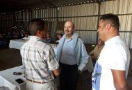 Vallejo Figueroa se comprometió con los habitantes de La Maestranza a platicar con representantes populares para pedir su solidaridad y apoyen las demandas de este importante complejo habitacional