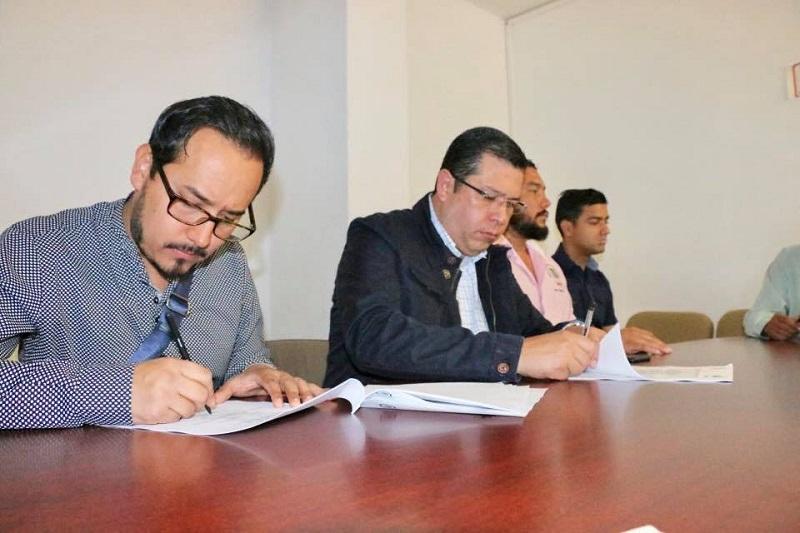 Barragán Vélez se dijo satisfecho por los acuerdos alcanzados con la base sindical, y resaltó que la prioridad es mejorar las condiciones de las y los trabajadores del subsistema