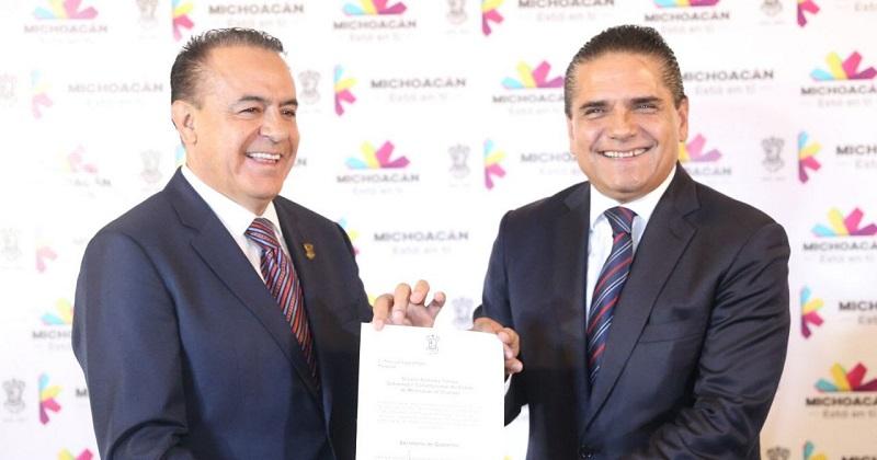 El mandatario estatal señaló que la principal encomienda de Sigala Páez será mantener la gobernabilidad en Michoacán y construir las soluciones que cada reto requiera