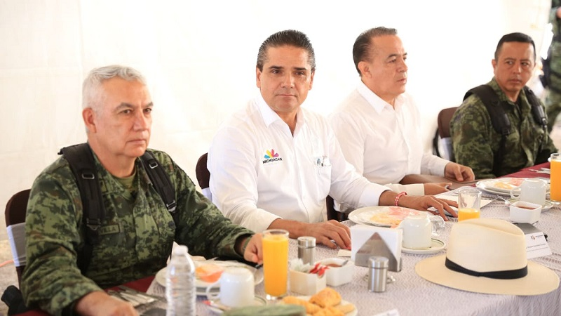 Se mantendrán y reforzarán las acciones para la búsqueda de objetivos delincuenciales: Aureoles Conejo