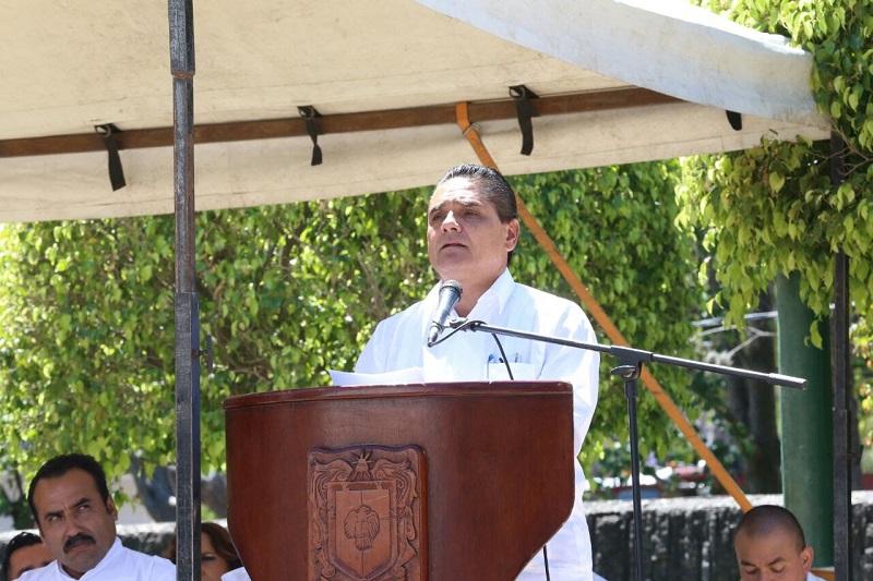 Aureoles Conejo refirió que México se encuentra en una época crucial para la transformación, como la que vivió el General Lázaro Cárdenas en el siglo pasado