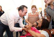 """""""También estaremos concentrando esfuerzos en Morelia, en donde hay una gran cantidad de personas que viven en condiciones difíciles sobre todo en la zona rural y en ciertos polígonos urbanos"""": Soto Sánchez"""