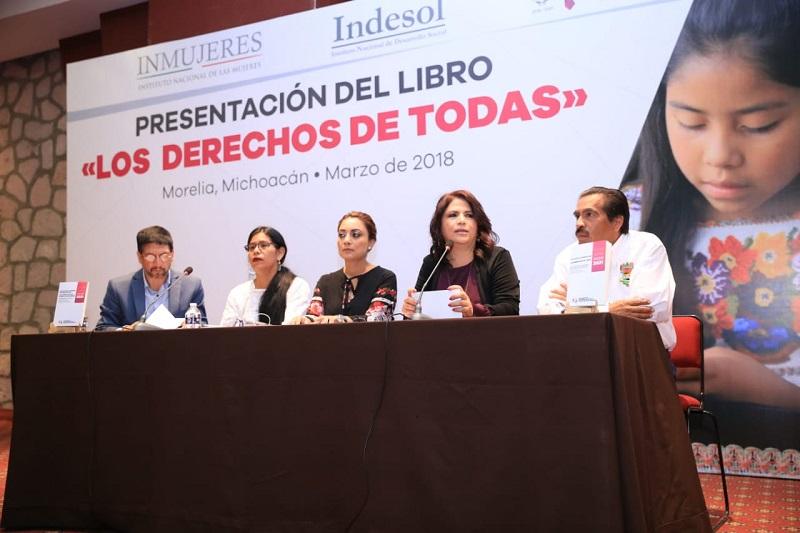 La administración que encabeza el gobernador Silvano Aureoles seguirá promoviendo mecanismos para que las michoacanas hagan valer sus derechos, subraya la titular de la CGCS, Julieta López Bautista