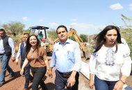 Ramírez Bravo puntualizó que al modernizar la infraestructura de un lugar se está mejorando la calidad de vida de las personas que en él habitan