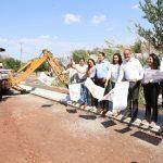 Arranca la terminación del encoframiento del drenaje de El Disparate y compromete ampliar la obra hasta el libramiento