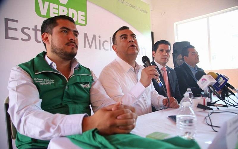 Ortiz García se pronunció por un gobierno municipal que le apueste al desarrollo de Morelia y no a los negocios personales, como ocurre ahora