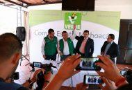 """""""Nosotros reconocemos a un candidato ciudadano que de ahora en adelante será arropado por el Partido Verde, ya que es alguien que ha demostrado vocación de servicio"""": Núñez Aguilar"""