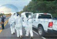 Al lugar arribaron elementos de la Policía Michoacán y paramédicos, los cuales confirmaron que la persona presentaba una lesión en el cráneo y ya había dejado de existir