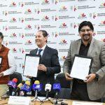Ante la presencia de productores de mezcal, Jesús Melgoza señaló que se tiene proyectado posicionar los esquemas de proveeduría mediante líneas de crédito