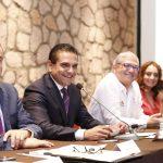 En reunión con las y los titulares de secretarías, coordinaciones y direcciones, el mandatario estatal presenta formalmente a Pascual Sigala Páez como secretario de Gobierno