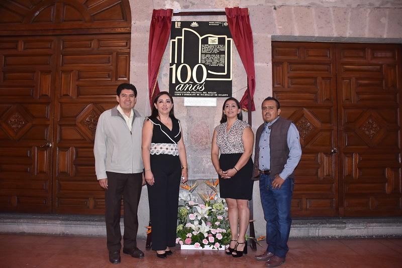 El Teatro Ocampo será recordado como edificio emblemático en donde se promulgó la Carta Magna de 1918