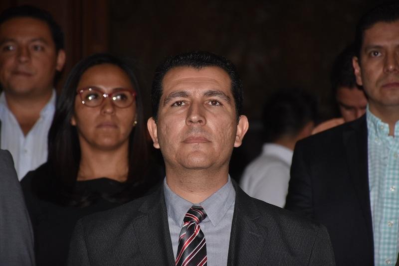 Ante el Pleno Camaral el Fiscal tomó la protesta correspondiente