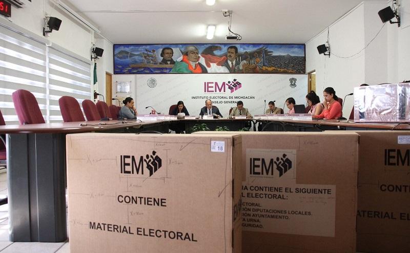 En este tenor, una de las adquisiciones más importantes es la de la empresa que se encargará de la impresión de la documentación electoral