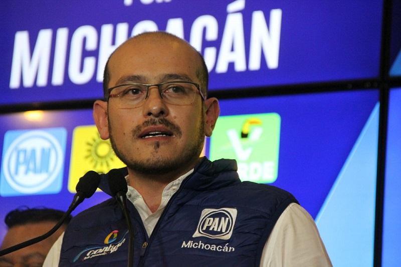 Hinojosa Pérez señaló que Acción Nacional será vigilante de que este proceso se realice en total transparencia y respeto a los órganos electorales y a los votantes en general