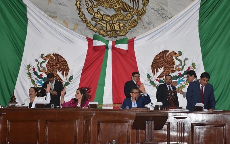 José Daniel Moncada Sánchez será  vicepresidente; Francisco Campos Ruiz, primer secretario; Eduardo García Chavira, segundo secretario y Enrique Zepeda Ontiveros, tercer secretario