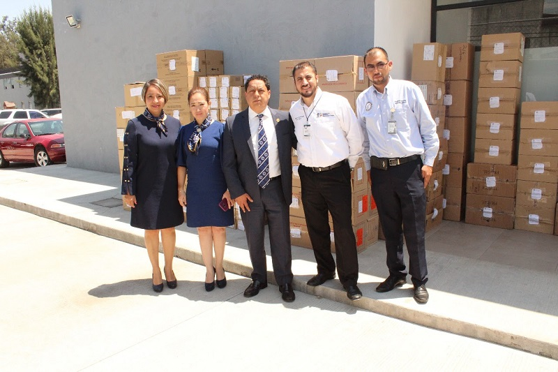 Dicha medicina fue asegurada por el Centro de Operaciones Estratégicas durante la ejecución de un mandato judicial el 14 de diciembre de 2017 en un domicilio ubicado en la colonia La Palma, en el municipio de Tarímbaro