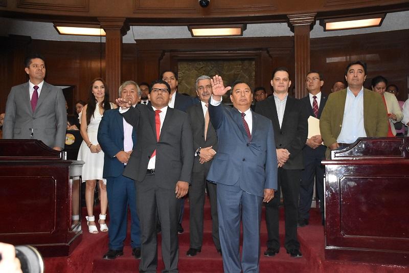 Los diputados votaron en forma unánime designar a Rafael Rosales Coria y Sergio Mecino Morales, como magistrados