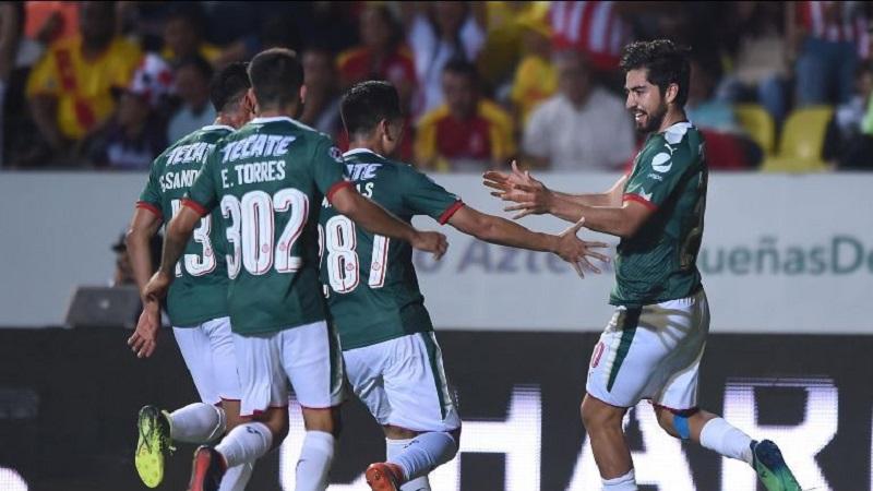 Rodolfo Pizarro anotó los dos goles del Rebaño, al 36' y al 61' y Sepúlveda recortó la distancia al 75'