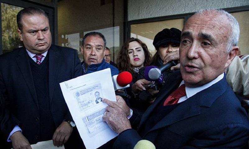 """A través de un mensaje por medio de twitter, Ferriz de Con expuso; """"El INE avaló el fraude más importante de la historia, aceptando las firmas falsas de Margarita Zavala a pesar de que el 90% de sus apoyos fueron recabados en una región del Estado de México"""""""