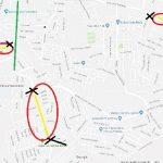 La única vialidad primaria que ha quedado libre para bajar desde la zona de la salida a Atécuaro es la calle Margarita Maza de Juárez, donde se concentra un tremendo flujo de vehículos