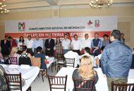 Los ponentes encargados de impartir el taller fueron, Ignacio Hurtado Gómez, presidente del Tribunal Electoral en Michoacán; el magistrado Salvador Pérez Contreras y Humberto Sánchez, consultor político, entre otros
