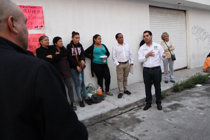 Sandoval Canals señaló que es necesario e importante conocer personalmente a los candidatos, ver de dónde vienen y que cosas han hecho