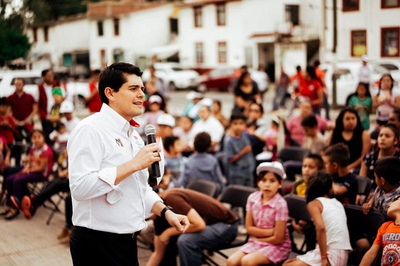 """""""Me comprometo con los jubilados y pensionados para que se revise a detalle su trámite en cuanto a su pensión"""": Antonio Ixtláhuac"""