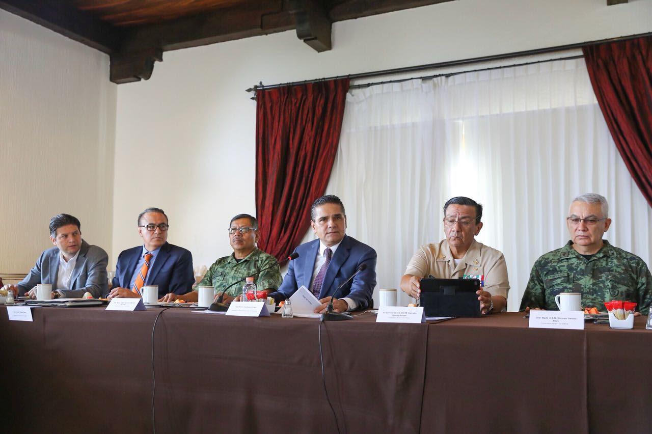 Esta tarea exige de los tres órdenes de gobierno toda nuestra capacidad y coordinación, afirmó el mandatario michoacano