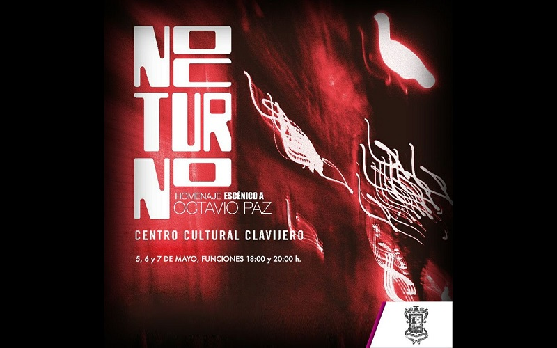 """""""Nocturno"""" es un espectáculo gratuito que consta de un recorrido por tres estaciones escénicas dentro del edificio"""