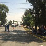 Mientras tanto, la Policía Michoacán de la Secretaría de Seguridad Pública (SSP) ha instalado un operativo de vigilancia en las carreteras del estado