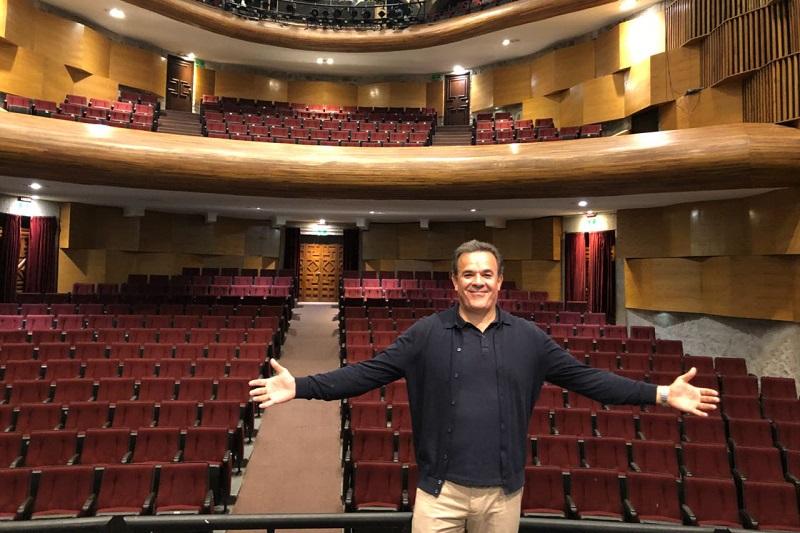 Este miércoles el tenor realizó su último ensayo con la Osidem.