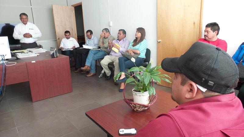 Con la representación del secretario Rubén Medina Niño, el subsecretario de Organización Carlos Torres Robledo, dirigió la reunión