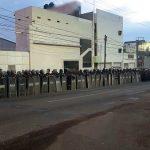 Los manifestantes fueron identificados como operadores del transporte público e integrantes del Frente de Liberación Social por La Piedad