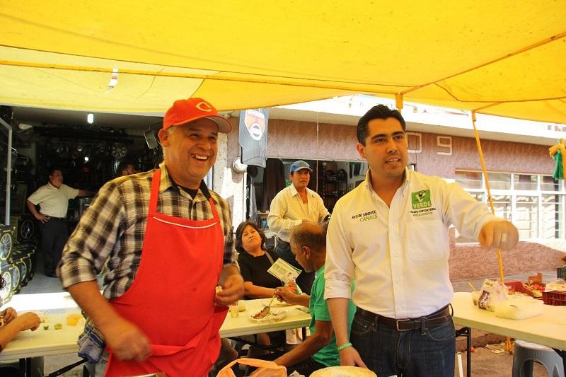 Sandoval Canals ofreció que al llegar a la Cámara Baja serán los temas principales que corregirá para el bienestar tanto de grandes y pequeños de Morelia