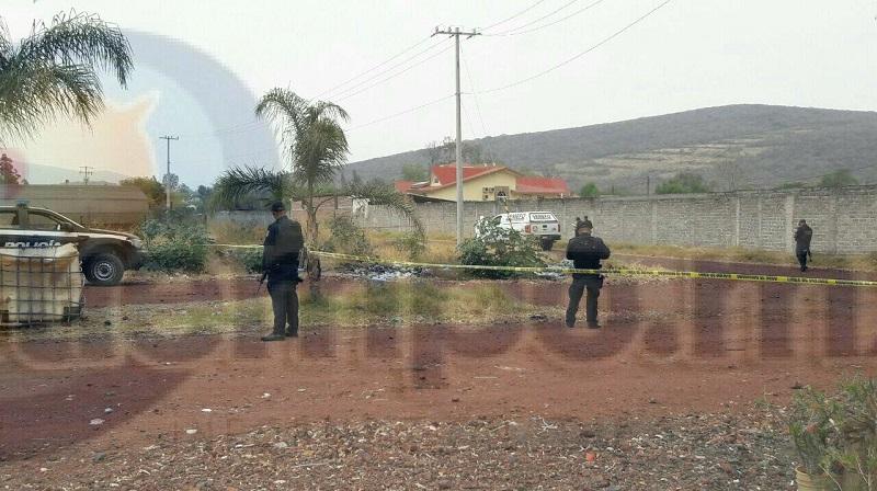 Los elementos policiacos realizaron un operativo para tratar de dar con los agresores sin resultados positivos
