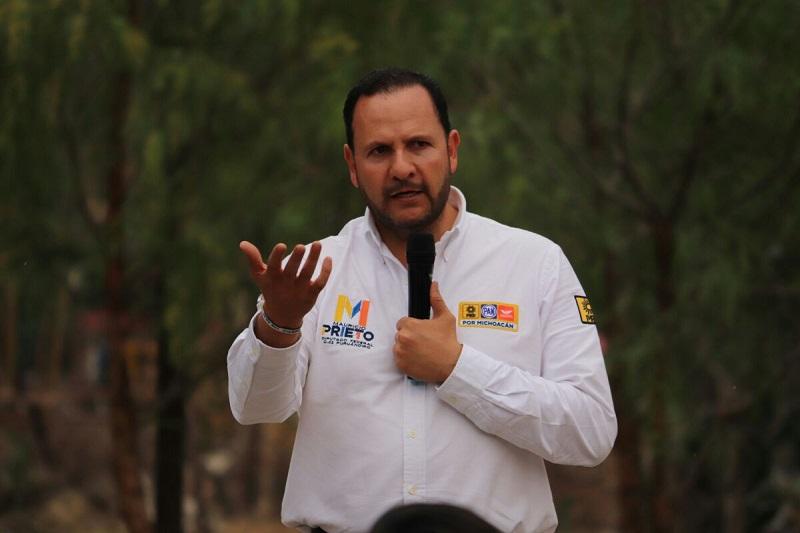 El candidato a diputado federal con cabecera en Puruándiro señaló que hoy en día hay zonas en donde la ciudadanía no se siente segura, al vivir a la expectativa de que pudieran ser víctimas de la delincuencia