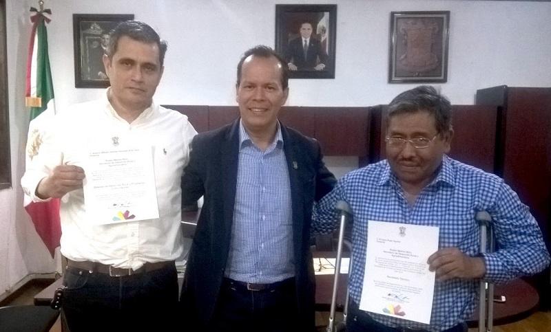 Medina Niño presentó al nuevo Secretario Técnico con el personal de dicha área, quienes le dieron la bienvenida