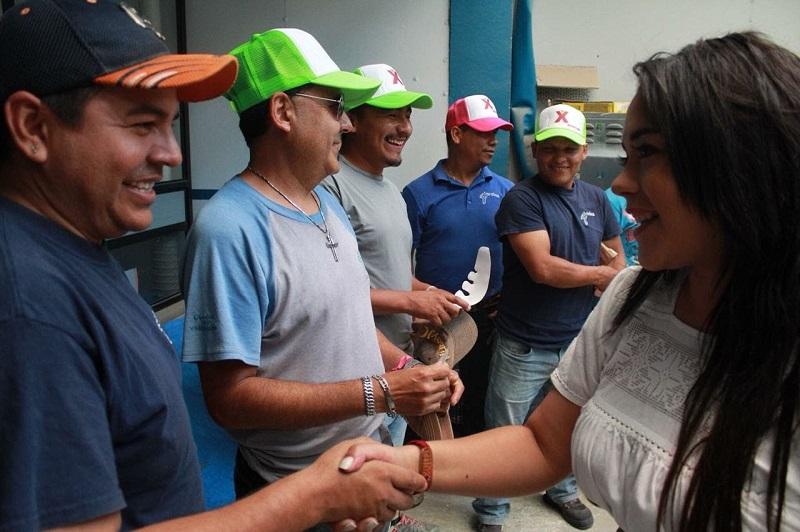 La candidata señaló que es tiempo de que México fortalezca su papel de liderazgo en América Latina y eleve la voz en forma respetuosa para que se respeten los derechos humanos de los migrantes